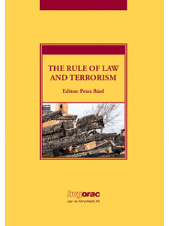 The Rule of Law and Terrorism