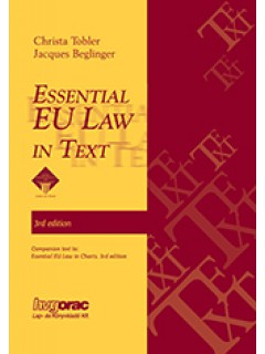 ESSENTIAL EU LAW IN TEXT 3rd edition